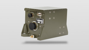 GEONYX™ side view - an inertial navigation system with advanced HRG (Hemispherical Resonator Gyro)